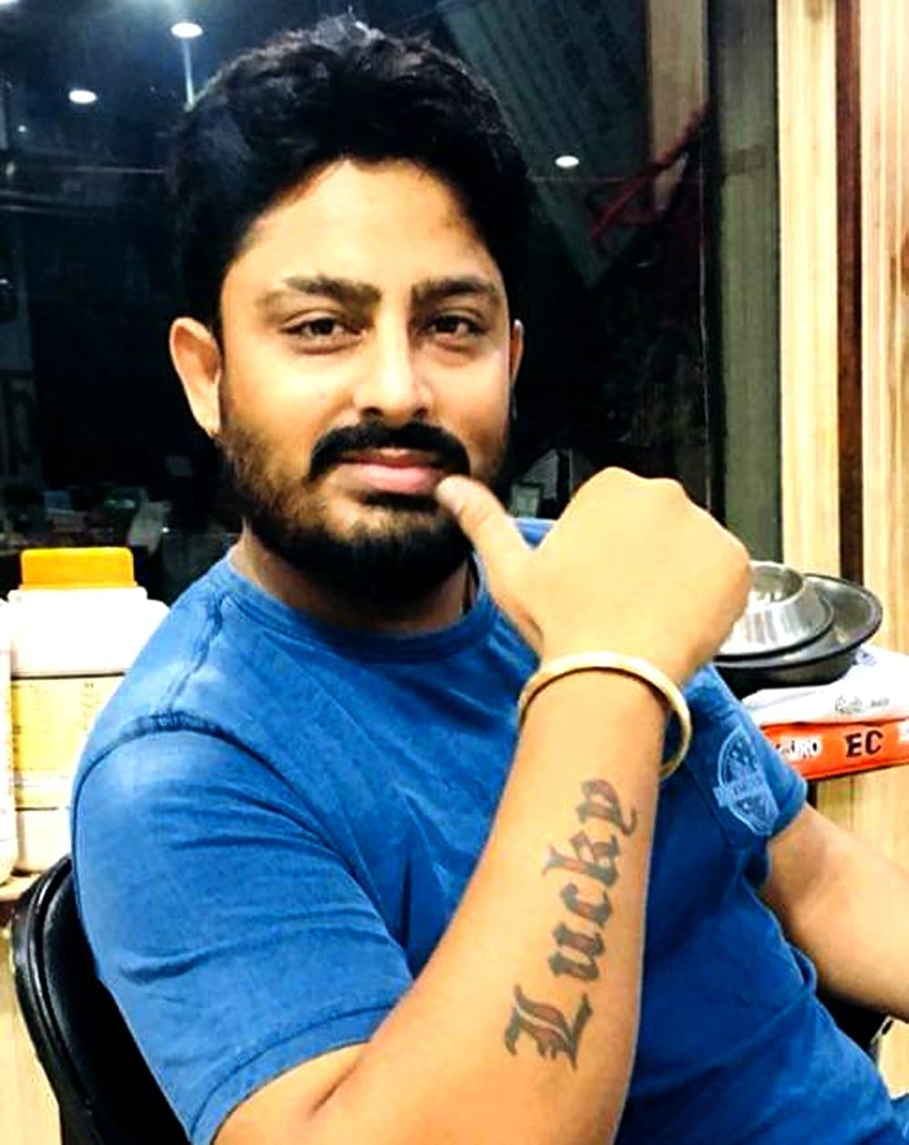 लापता मुकेश कुमार लक्की का फाईल फोटो